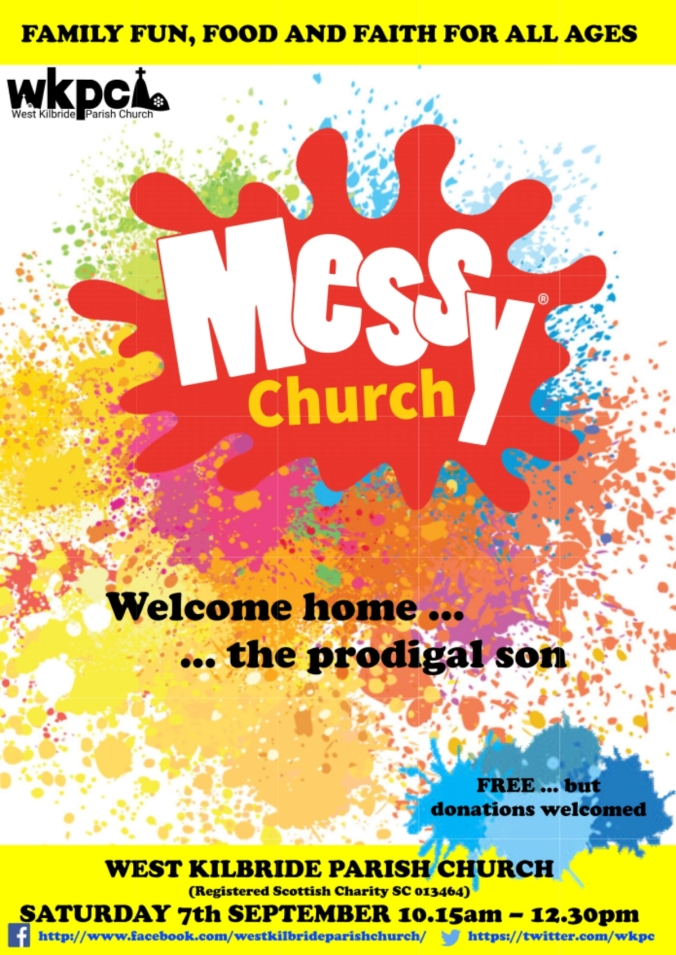Messy Church September 2019